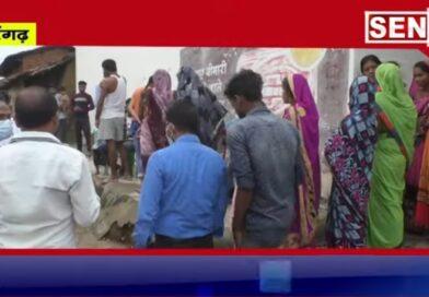 सारंगढ ग्रामीण इलाकों में टीकाकरण के कार्य मे आयी तेजी//अधिकारी कर रहे है घर घर जाकर ग्रामीणों को जागरूक